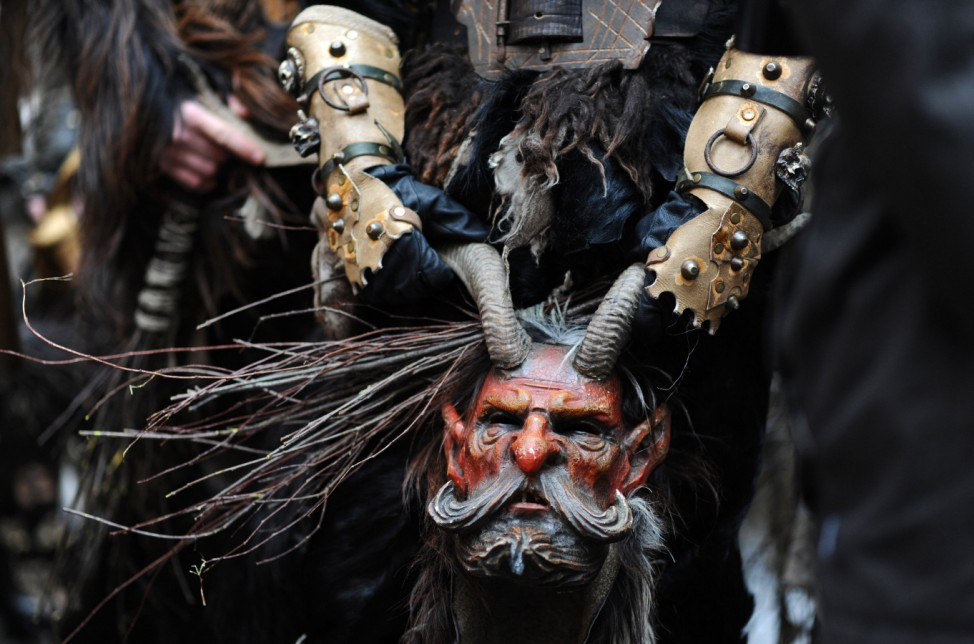 Traditioneller Krampuslauf