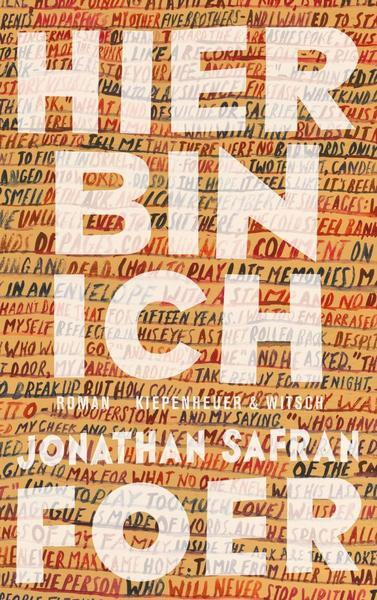 Hier bin ich Jonathan Safran Foer