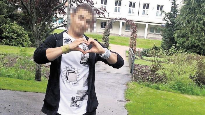 Mord in Freiburg: Hussein K. auf einer privaten Aufnahme.