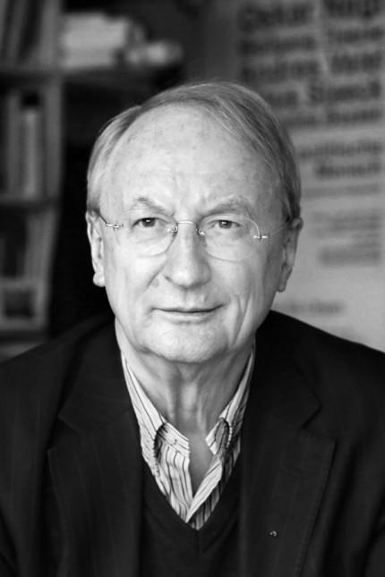 Außenansicht: Klaus Staeck, 78, ist Rechtsanwalt, Grafiker und Ehrenpräsident der Berliner Akademie der Künste.