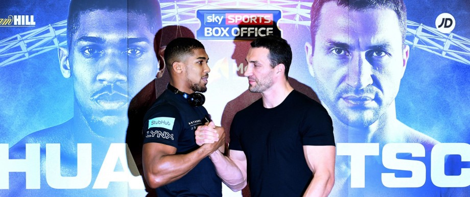 Anthony Joshua vs Wladimir Klitschko press conference at Wembley