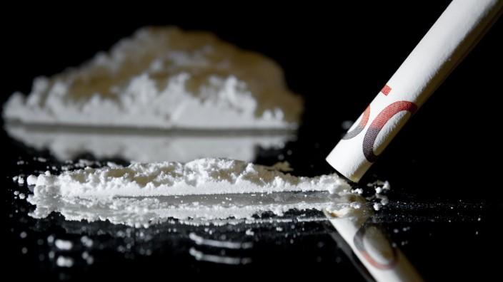 Illustration Rauschgift - Kokain