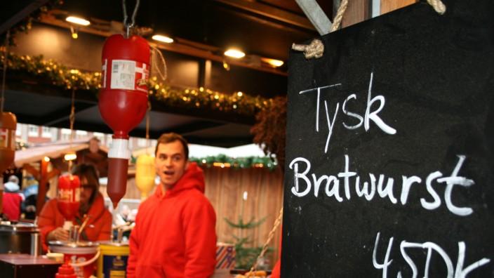 Weihnachtsmarkt in Kopenhagen