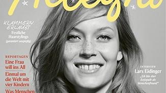 """Cover des Magazins """"Allegra"""" vom Dezember 2016."""
