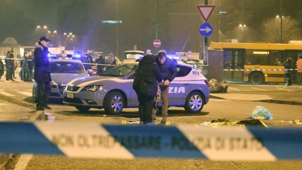Mutmaßlicher Berliner Attentäter inMailand getötet