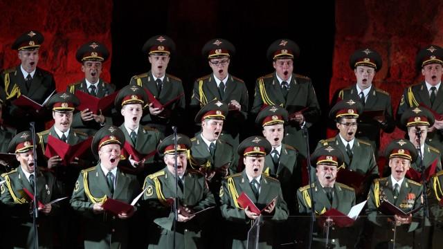Alexandrow-Chor im Juli 2013.