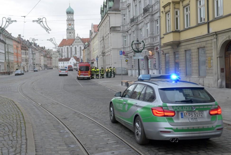 Entschärfung einer Fliegerbombe in Augsburg