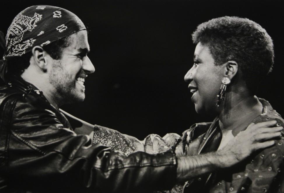 Aretha Franklin, George Michael