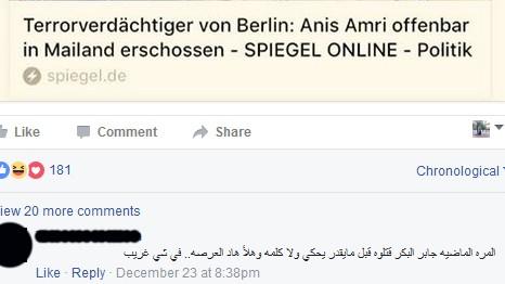Anis Amri Verschwörungstheorie FB