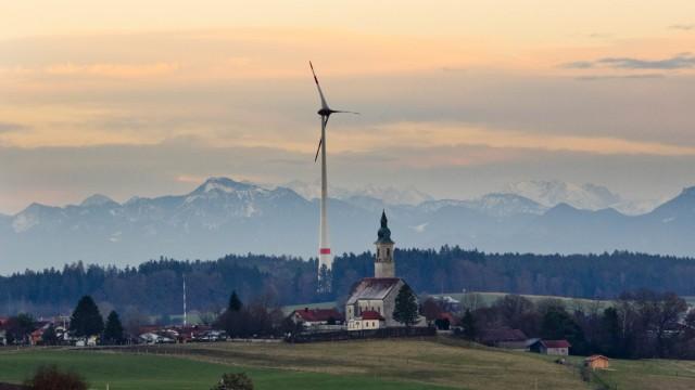 Windrad Hamberg, Ansichten von der Ferne