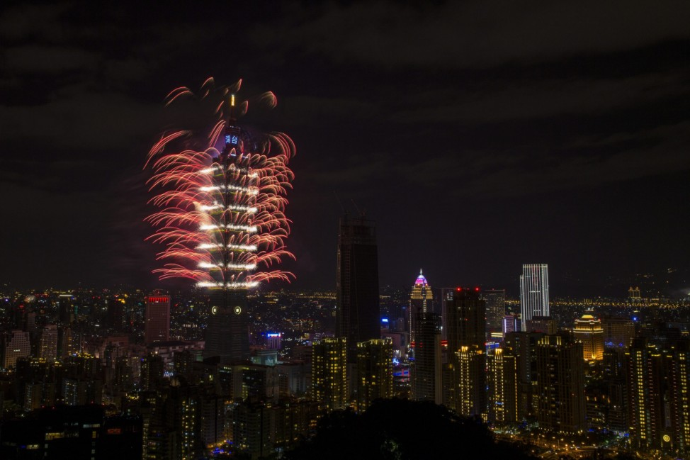 New Year's Eve celebration in Taipei