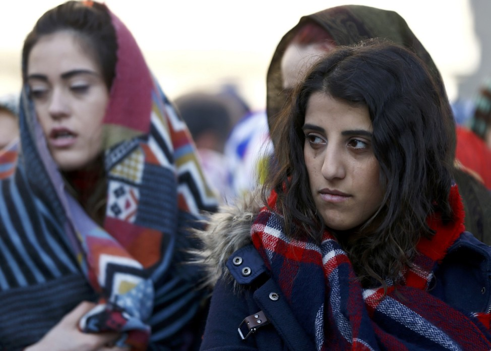 Relatives react at the funeral of Kose, a victim of an attack by a gunman at Reina nightclub, in Istanbul