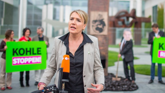 Grünen-Aktion gegen Kohle