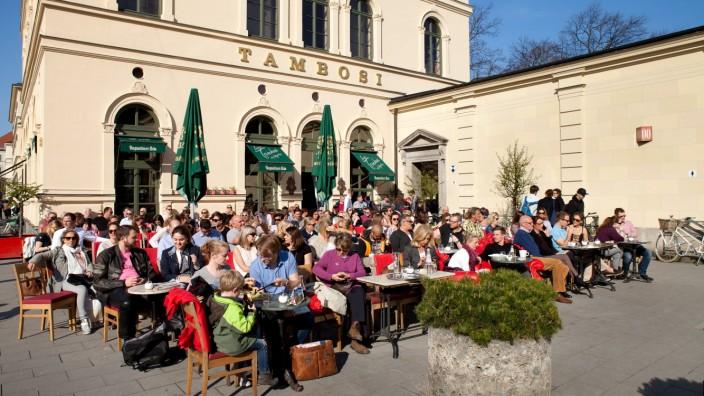 Cafe Tambosi in München, 2016