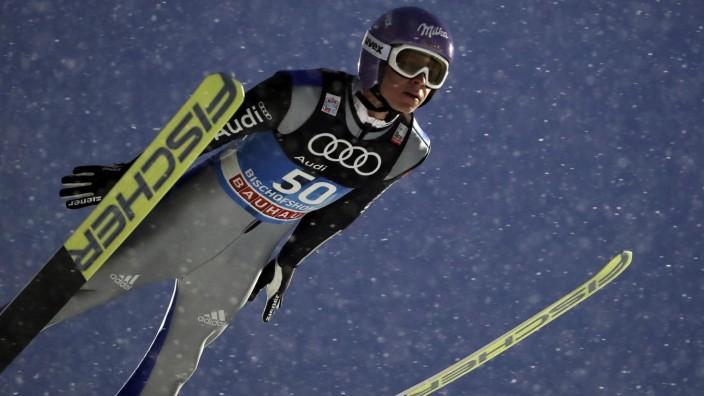 Vierschanzentournee: Andreas Wellinger springt in Bischofshofen einen Rekord bei der Vierschanzentournee.