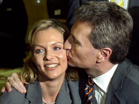 Günther und Inken Oettinger; dpa