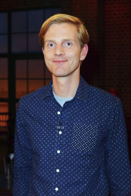 Philipp Walulis bei der Aufzeichnung der WDR Talkshow Kölner Treff im WDR Studio BS2 Köln 26 09 20