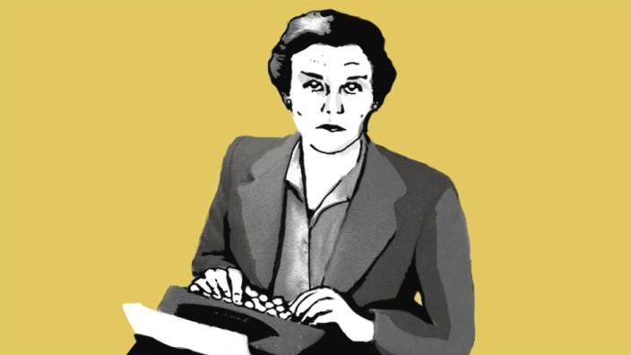 Clare Hollingworth: Nur zwei Dinge hatte Clare Hollingworth als Korrespondentin nach eigenen Angaben immer dabei: Eine Zahnbürste - und eine Schreibmaschine.