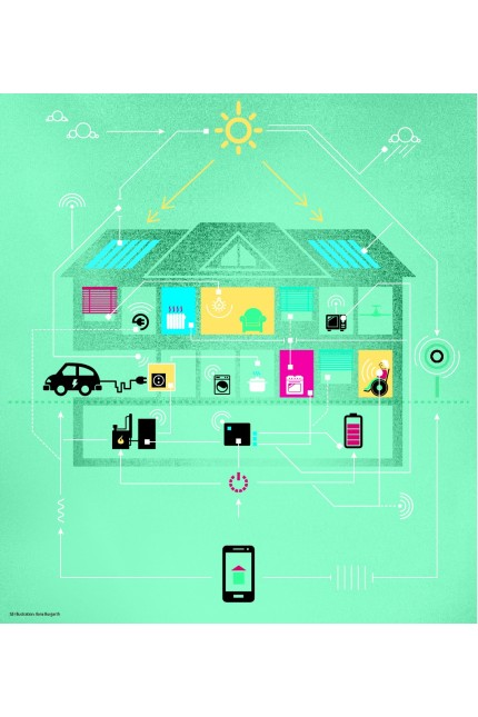 Smart Home: SZ-Grafik: Ilona Burgarth