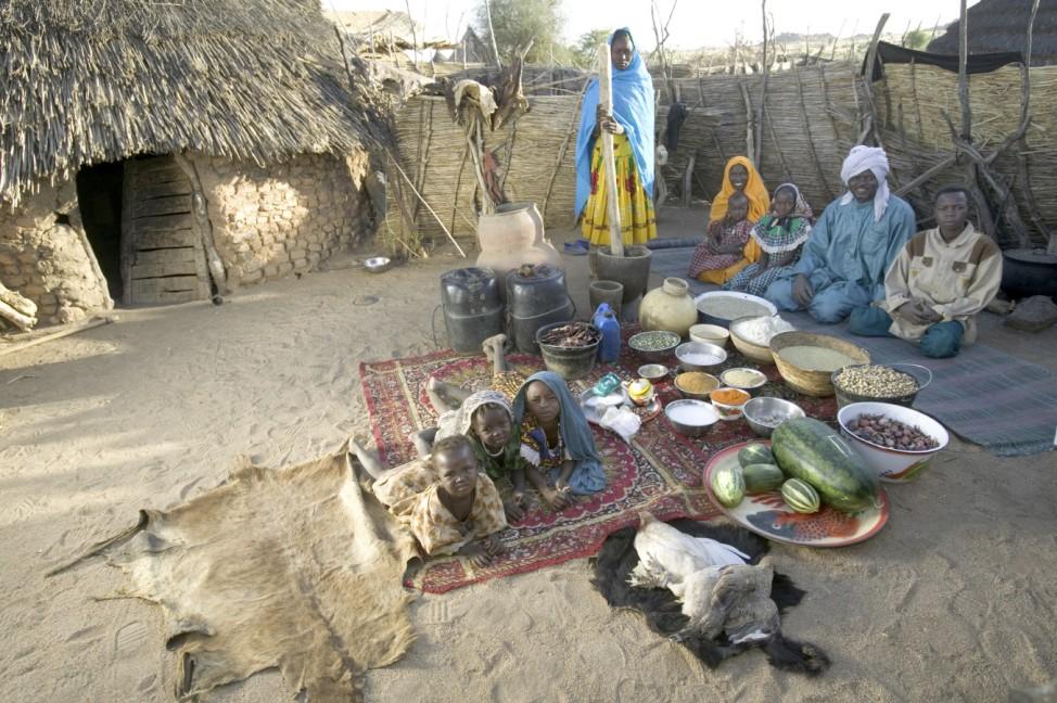 Hungry Planet, Tschad, Buch: 'So isst der Mensch'