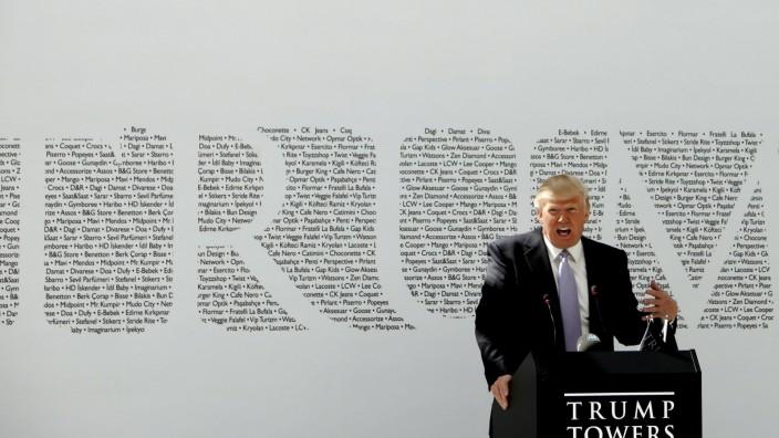 Donald Trump in Istanbul
