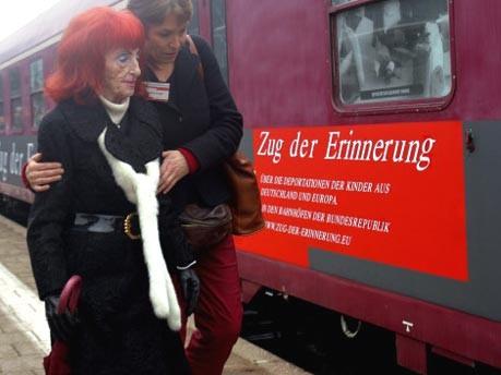 Zug der Erinnerung, Foto: dpa