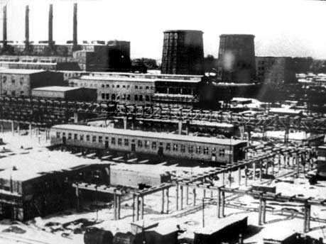 IG-Farben Fabrik Auschwitz-Monowitz, Foto: dpa