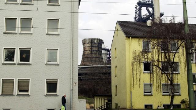 Immer weniger Menschen im Ruhrgebiet