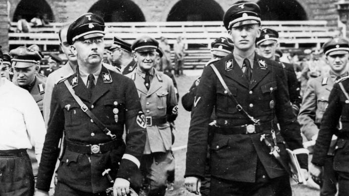 Heinrich Himmler mit Reinhard Heydrich