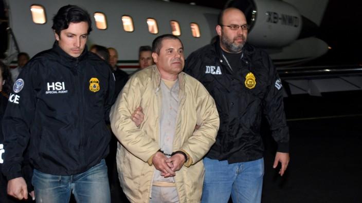 """Drogenboss ´El Chapo"""" an USA ausgeliefert"""
