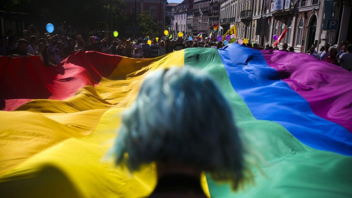 17th Lisbon gay pride parade