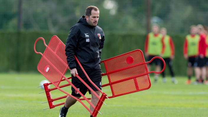 Marbella Spain 10 01 2017 Trainingslager FC Augsburg Trainer Manuel Baum FCA DeFodi001