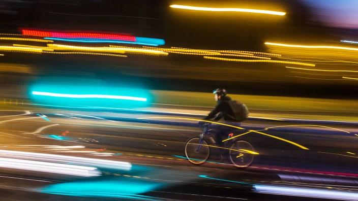 GPS-Tracking von Radfahrern: Welche Routen Radfahrer tatsächlich nutzen, ist Stadtplanern oft unbekannt.
