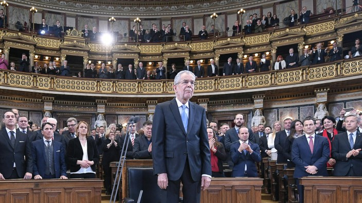 Österreichs Präsident vereidigt