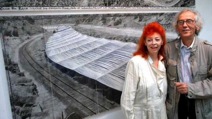 Fluss-Projekt von Christo und Jeanne-Claude