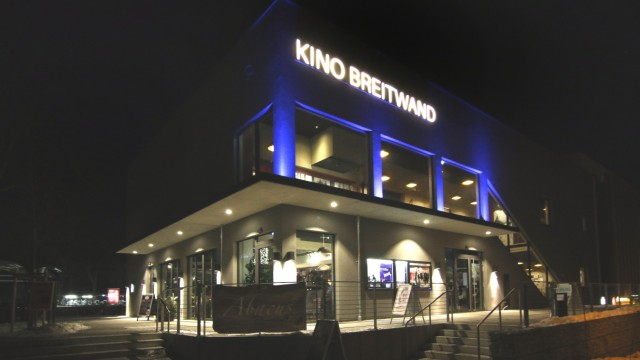 Das Breitwand-Kino in Gauting