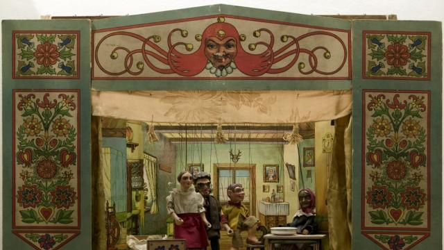 Marionetten aus der Sammlung Naefe