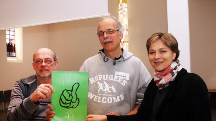 Asylgipfel in der Evangelischen Kirche; Asylgipfel in der Evangelischen Kirche