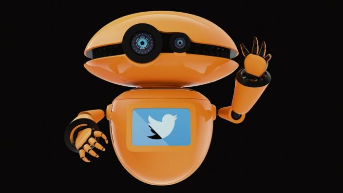 Social Bots verschicken Spam oder versuchen, Meinungen zu beeinflussen.
