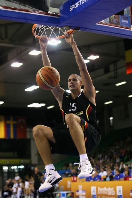 France v Germany - FIBA European Championships 2013