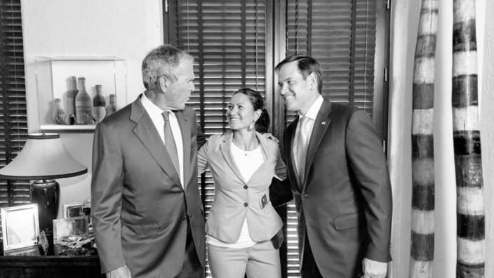 George W. Bush, Shealah Craighead, Marco Rubio