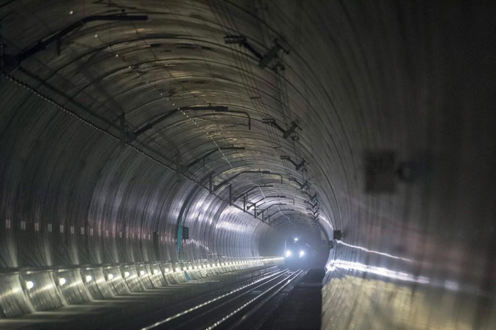 Neues Erlebnisfenster am Gotthard-Basistunnel