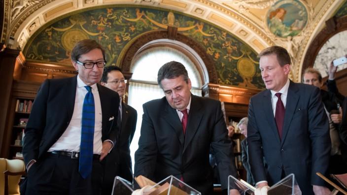 Außenminister Gabriel in den USA