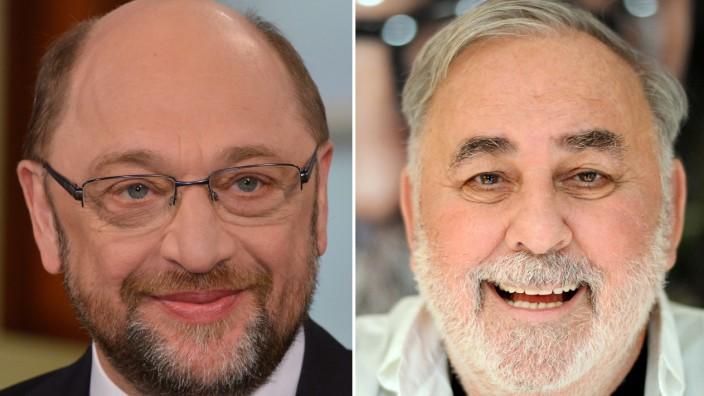 Martin Schulz und Udo Walz