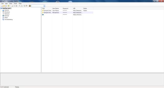 Screenshot Passwort-Manager KeePass