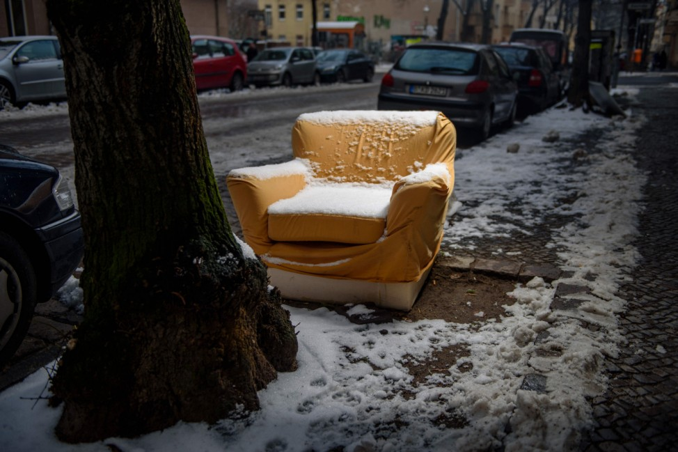 Müll auf Berliner Straßen