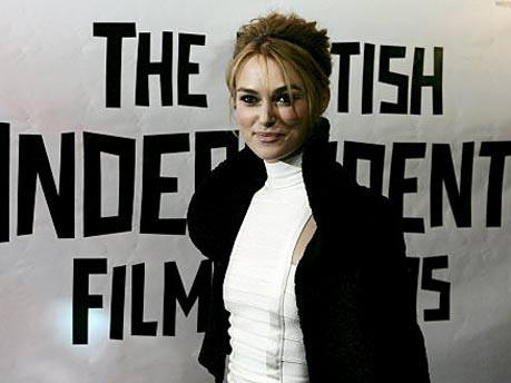 Schauspielerin Keira Knightley im November 2005 in London