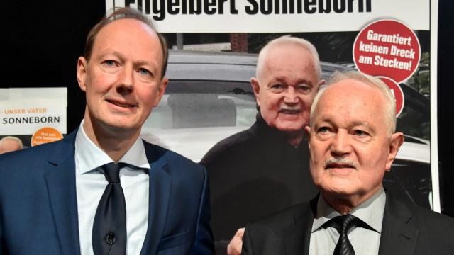 Engelbert Sonneborn kandidiert als Bundespräsident