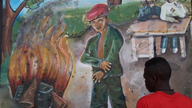 Unicef-Transitzentrum für frühere Kindersoldaten