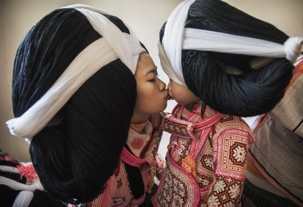 Traditions Fade For China's Long Horn Miao